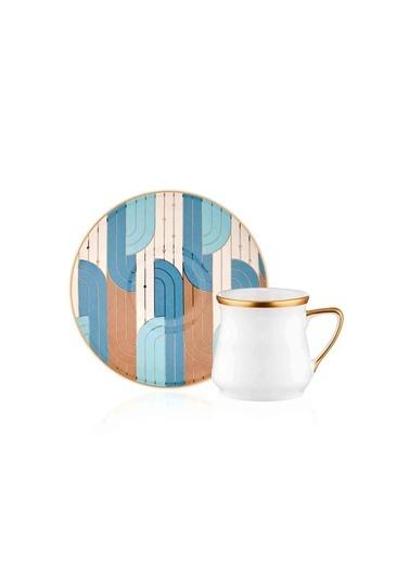 The Mia Gatsby Kahve Fincanı -Tek Kişilik Renkli